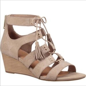 Ugg brown faux snake skin sandals